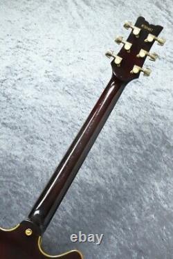 Ibanez As200 Av -artist- Guitare Électrique Semi-acoustique Avec Hc Fabriqué En 1987 Japon