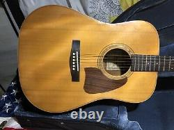 Ibanez Aw100 Guitare Acoustique Made In Japan Mij W Case