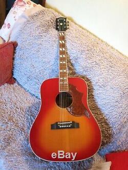 Ibanez Fait Vintage Hummingbird Acoustic Mij 1974 Luthier Réformé