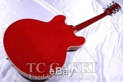 Japon Elite 1963 Epiphone Es-335 / Guitare Semi-acoustique Avec Hc Fait 2002 Japon