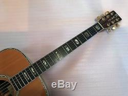 K. Yairi Dy-41 Vintage 1976 Guitare Acoustique En Palissandre Massif Tous Fabriqués À La Main Superbes