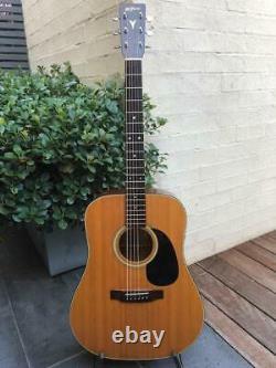 K Yairi W-1 6 Cordes Acoustic Guitar Hand Made In Japan Mij 1984
