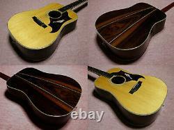 K. Yairi Yw500p 1974 Vintage Made In Japan Avec Boîtier Dur