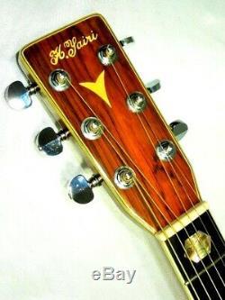 K. Yairi Yw-600 1976s Guitare Acoustique Martin D45 Type Fabriqués Au Japon