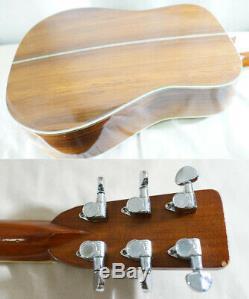 K. Yairi Yw-nat 1975 Fait 600 Guitare Acoustique Faite Au Japon Avec Hc