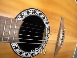 Kaman Matrice Acoustique Guitare Électrique Modèle # 1737 Made In USA