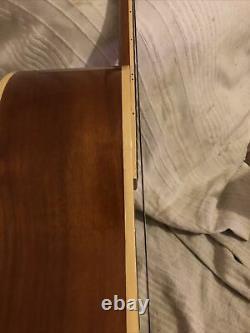 Kent Acoustic Guitar Original 70s / Début Des Années 80 Fabriqué En Corée. Solide Et Haut. Etc