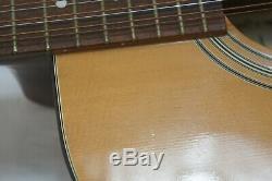 Kimbara F / V 71218 12 Cordes Guitare Acoustique London Fcn Made In Japan