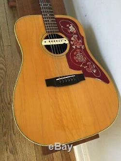 Landola Guitare Acoustique Avec Lr Baggs M1a Ramassage & Case (made In Finlande) Gibson