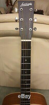 Larrivee Om-40 Acoustique Guitare Électrique Made In USA Lr Baggs Anthem Menthe
