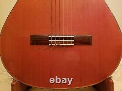 Les Japonais Des Années 1970 Ont Fait Epiphone Guitare Classique Avec Chipcase Excellent État