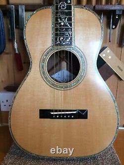 Luthier Arbre De Vie Fait Main 0-45 Acoustic Parlour Guitare