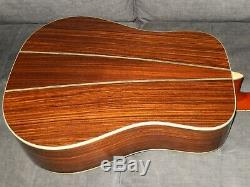 Made In 1980 Kazuo Yairi Yw500p Absolument Grande Guitare Acoustique Style D35