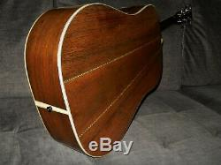 Made In Japan 1979 Morris W80 Absolument Terrific D45 Style Guitare Acoustique