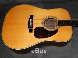 Made In Japan 1982 De Cat Yeux Ce800 Simplement Great D28 Style Guitare Acoustique