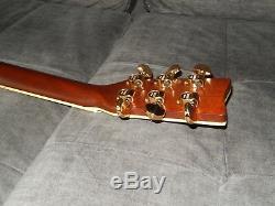 Made In Japan En 1978, Yamaha L5 Cordes En Acier Acoustique Grand Concert Guitare