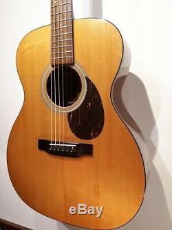 Martin Om-21 États-unis A Fait Toute Solide Guitare Acoustique Inc Hard Case 2005