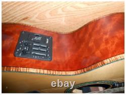 Maton Custom Shop Tasmanian Myrtle Andy Allen Acoustic Guitar Made En Australie