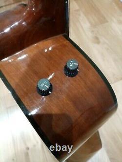 Mik Antoria Electro Guitare Acoustique Fabriquée En Corée Par Ibanez, Très Bel État
