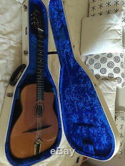 Modèle De Guitare N ° 250 Gypsy Jazz 2009 Fabriqué Par Manouche Guitars + Guitar Case