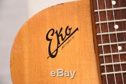 Modèle Eko 100 Vintage 1960 Guitare Archtop Made In Italy Gitarre