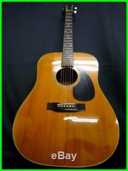 Morris Guitare Acoustique W-18 Fabriqué Au Japon Beutiful Japan Rare Utile Ems F / S