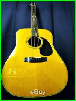 Morris / Maurice Guitare Acoustique W 25 Fabriqué Au Japon Rare Utile Ems F / S