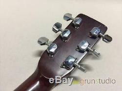 Morris W 25 Guitare Acoustique Fabriqué Au Japon Beutiful Japan Rare Utile Ems F / S