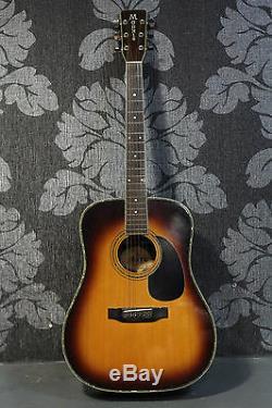 Morris W-35 Sbs Fabriqué Au Japon Des Années 1970 Guitare Acoustique