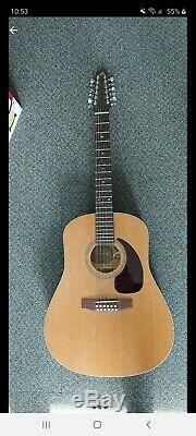 Mouette S12 + Cèdre Guitare 12 Cordes Fait Au Canada