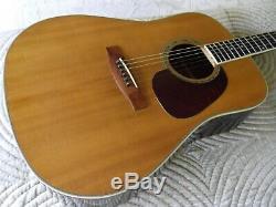 Nagoya Suzuki Modèle Sd390 Guitare Acoustique Made In Japan Reduit