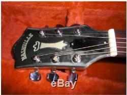Nashville Guild D-30 De Super Furious Made In Japan Vintage Guitare Acoustique