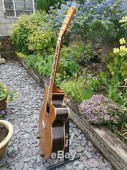 Norman Bois Anglais Hand Made Guitar De 1976 Pas De Réserve Gratuite Frais De Ports