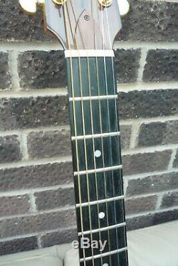 Northworthy Tideswell Main Guitare Construite Faite Par Alan Marshall Derbyshire
