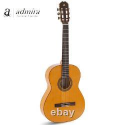 Nouvelle Admira Triana Spruce Top Guitare Acoustique Classique Espagnole Made En Espagne