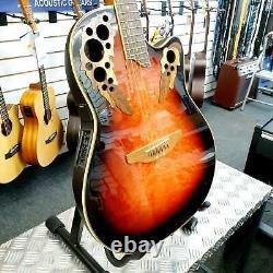 Ovation Celebrity Cs257-coréen A Fait Shallow Bowl-back Guitare Électro Acoustique