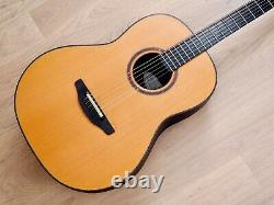 Ovation Fd-14 Folklore Deluxe Deep Bowl Acoustic Guitar USA 2003 Ovation Fd-14 Folklore Deluxe Acoustic Guitar USA Made With Case