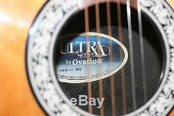 Ovation Ultra Series 1512 USA Made Fantastique Sounding Guitare Électro Acoustique