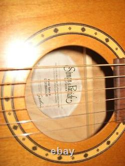Parlor Guitar Simon Et Patrick Natural Made In Canada