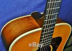 Puissant 1991 Guild Bluegrass Acoustique D-50, Made In Usa, Gdcond. Ohsc