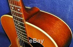 Rare 1984 Guild F-42nt Acoustic, N ° 46 Sur 65 Au Total, Fabriqué Aux États-unis, Vgcon. Ohsc