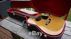 Rare & Beautiful Guitare Ibanez Ae300 Fabriquée Au Japon 1982 Mij Avec Étui