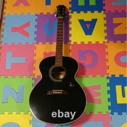 Rare Epiphone De Gibson Sj15eb Guitare Acoustique Noire S/n 01050039 Fabriqué En Corée