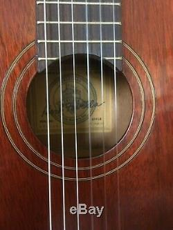 Rare Et Favilla Collection C5 Overture Classical Guitar Made In New York