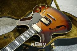 Rare Guitare Vintage Semi-acoustique De Type Yamaha Sa2000 Es-335 Avechc Fabriqué Au Japon