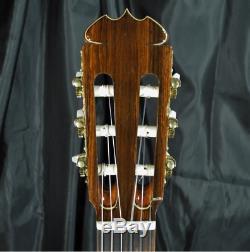 Rare Luthier Ryoji Matsuoka M65 Ambre Naturel Guitare Classique Made In Japan