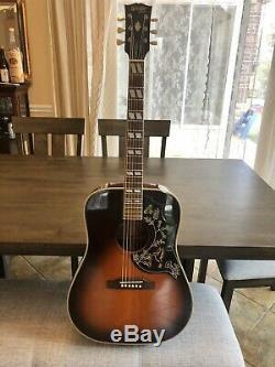 Rare Orville Gibson Hummingbird 1992 Made À Terada Usine Withpickup & Case