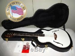 Rare Ovation Viper Officiel Yngwie Malmsteen Ym-68 / 6p Made In USA Avec Guitar Case
