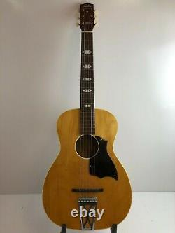 Rare Vintage Harmony Stella Acoustic S-70 1/4 Guitar 60's 70's Made In USA