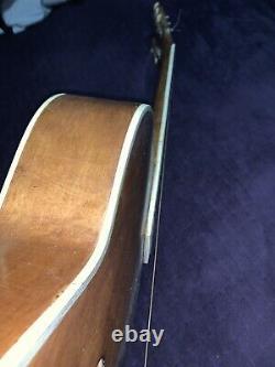 Rare Vintage Suzuki F-trou Acoustique / Guitare Classique Fabriqué Au Japon Wow